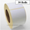 60 38x28mm Thermal Zebra Labels+30 Free+Free Shipping!