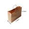 Brown Kraft Bag Junior (PTR101-J) 20x10x29cm FREE SHIPPING$95/250qty